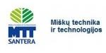 """Miškų technika ir technologijos (MTT) – tai """"Santeros"""" padalinys, tiekiantis profesionalią miško techniką Lietuvos rinkai. Palaikanti tvirtus verslo ryšius, įmonė siūlo miškakirtes, miškavežes, smulkintuvus biokuro gamybai, profesionalius miškininkystės matavimo prietaisus miškininkams ir kitą miškų bei medelynų techniką, atitinkančią įvairiausius kliento keliamus reikalavimus. Siekdama tvirtos pozicijos konkurencingoje rinkoje ir patenkinti reikliausių klientų poreikius, įmonė nuolat domisi technikos naujienomis, dalyvauja specializuotose parodose, plečia savo siūlomų prekių asortimentą."""